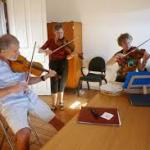 Violonistes du groupe KAS